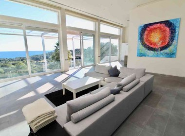 detached villa for sale in Can Girona Sitges with amazings views-Inmoven Properties Sitges