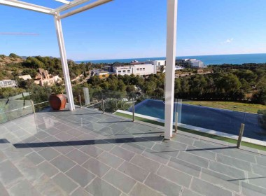detached villa for sale in Can Girona Sitges with amazings views-Inmoven Properties Sitges-6