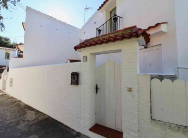 for sale terrace house garden amazing views in Sitges-Inmoven Properties Sitges-2