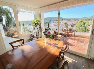 for sale terrace house garden amazing views in Sitges-Inmoven Properties Sitges-7