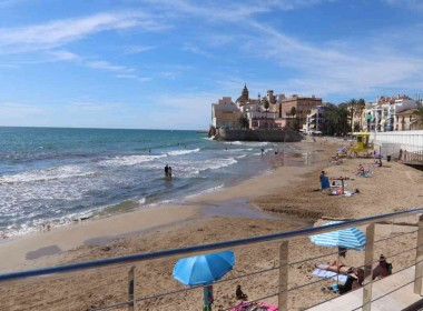 ground floor for sale with terrace in San Sebastian beach Sitges-2-10