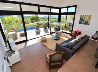Detached Villa for sale with pool and nice views in Sitges-Inmoven Prtopereties Sitges-4