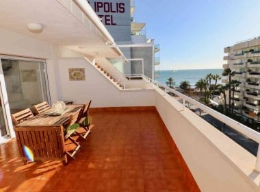 penthouse for sale with terrace and sea views in Sitges.Inmoven Properties Sitges-4
