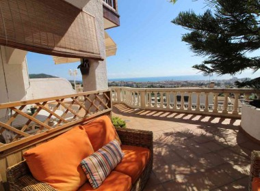 terraced house for sale with sea vieuws in Sitges-Inmoven Properties Sitges