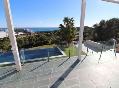 detached villa for sale in Can Girona Sitges with amazings views-Inmoven Properties Sitges-7