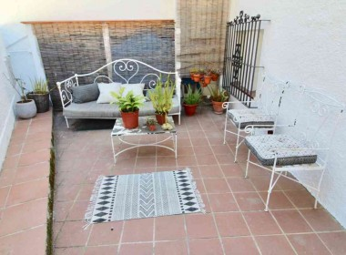 for sale terrace house garden amazing views in Sitges-Inmoven Properties Sitges-3