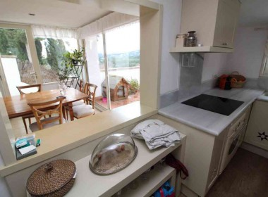for sale terrace house garden amazing views in Sitges-Inmoven Properties Sitges