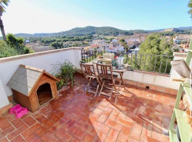 for sale terrace house garden amazing views in Sitges-Inmoven Properties Sitges-8