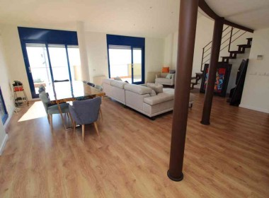 penthouse sea views in front line San Sebastian beach Sitges with large terrace-Inmoven Properties Sitges