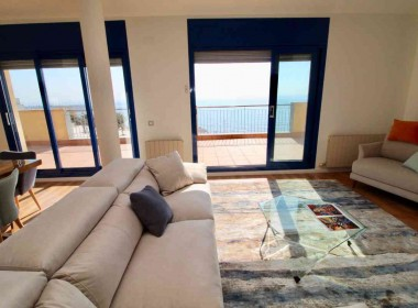 penthouse sea views in front line San Sebastian beach Sitges with large terrace-Inmoven Properties Sitges-4