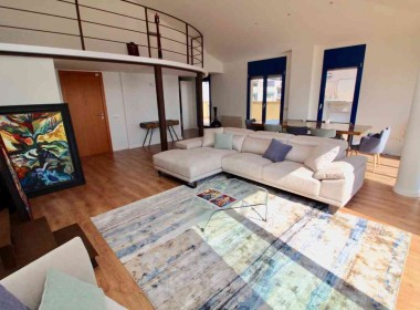 penthouse sea views in front line San Sebastian beach Sitges with large terrace-Inmoven Properties Sitges-5